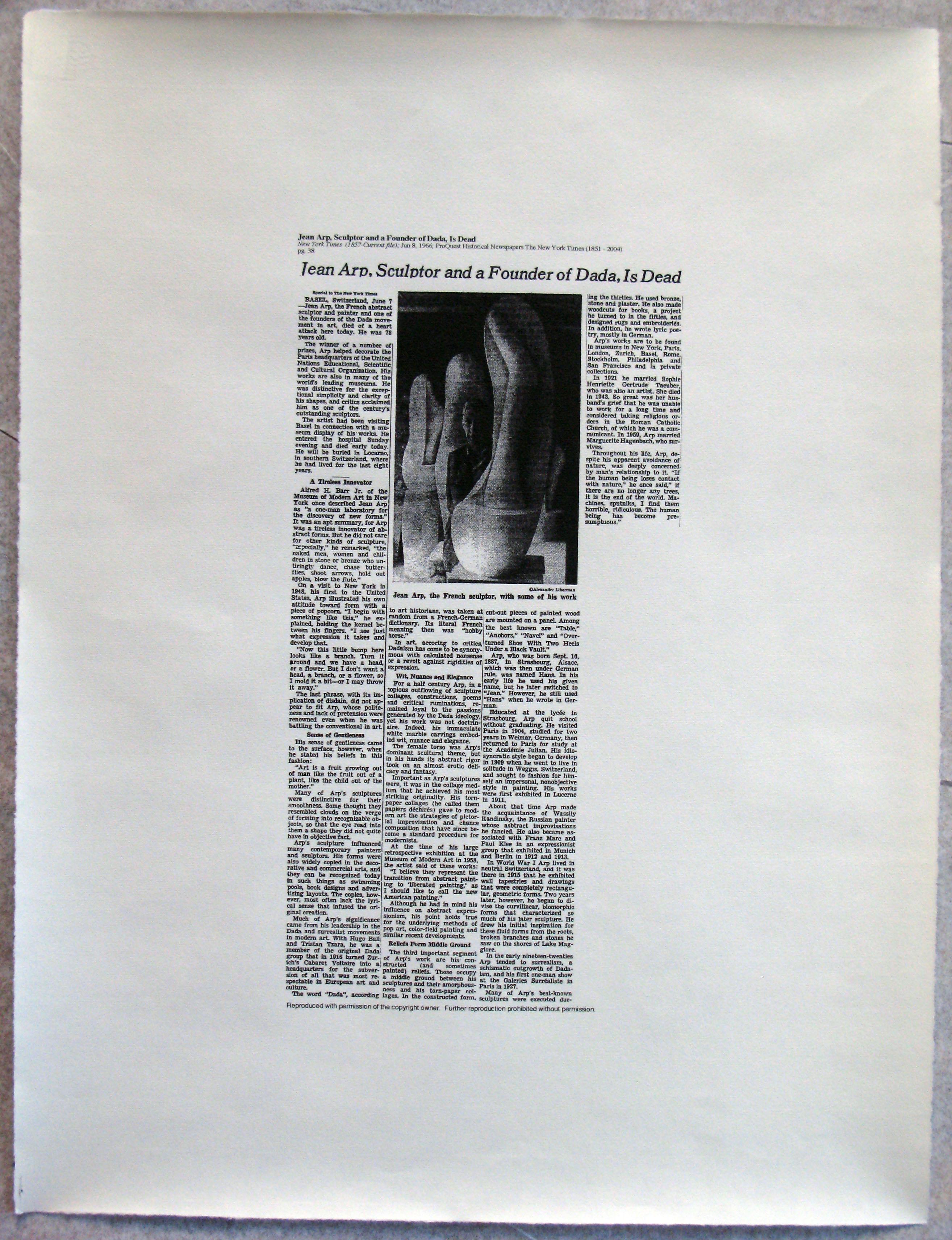 Ddth Arp Ny Times Obituaries